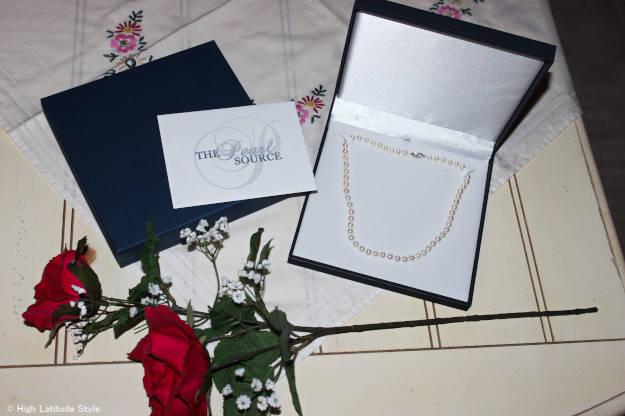 #jewelryover40 Ayoka pearl necklace c/o The Pearl Source Inc.