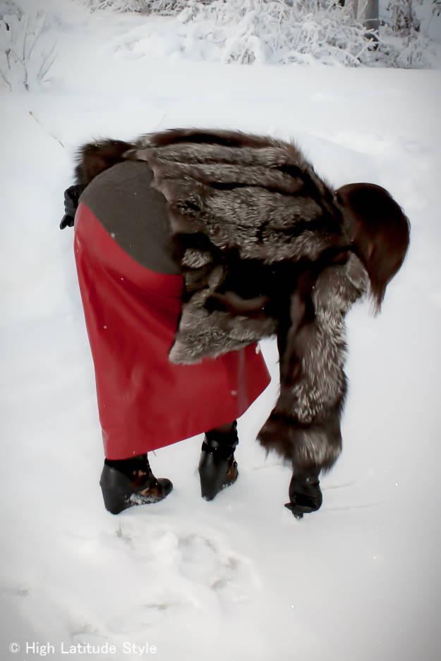 #fashionover50 woman in casual posh feminine winter look   High Latitude Style   http://www.highlatitudestyle.com