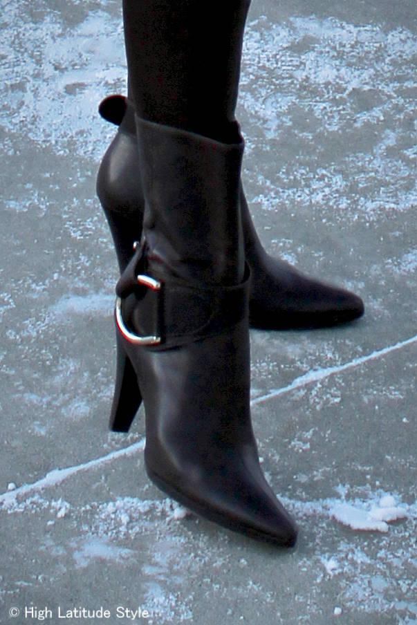 #heelsover50 Antonio Melani booties High Latitude Style @ http://wp.me/p3FTnC-41K