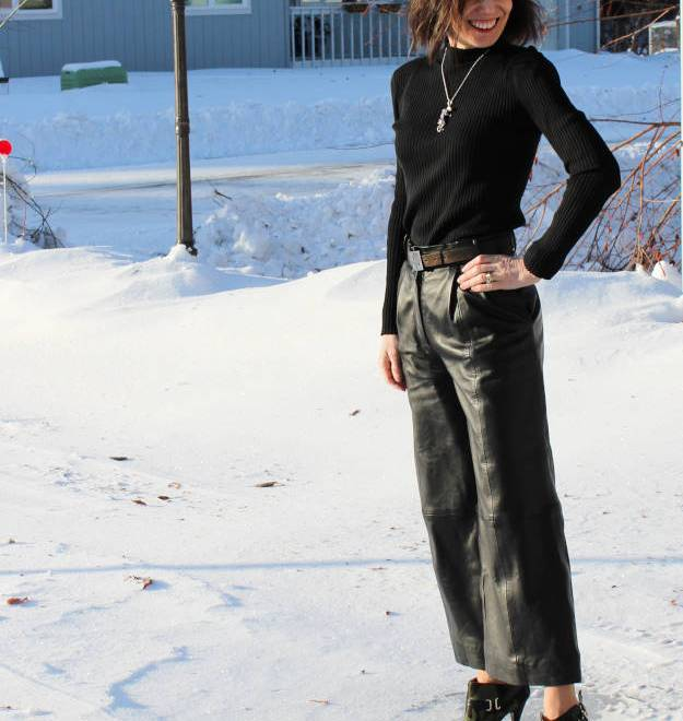 #over40fashion outfit with culottes | High Latitude Style | http://www.highlatitudestyle.com