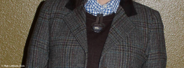 jewelry with Irish blazer | High Latitude Style | http://wp.me/p3FTnC-32x