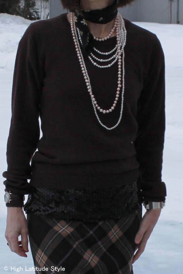fashion over 40 layering