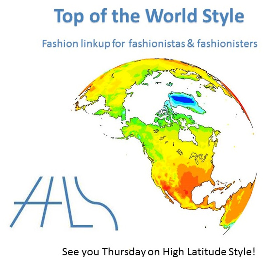Top of the World Style linkup party at High Latitude Style every week on Thursday