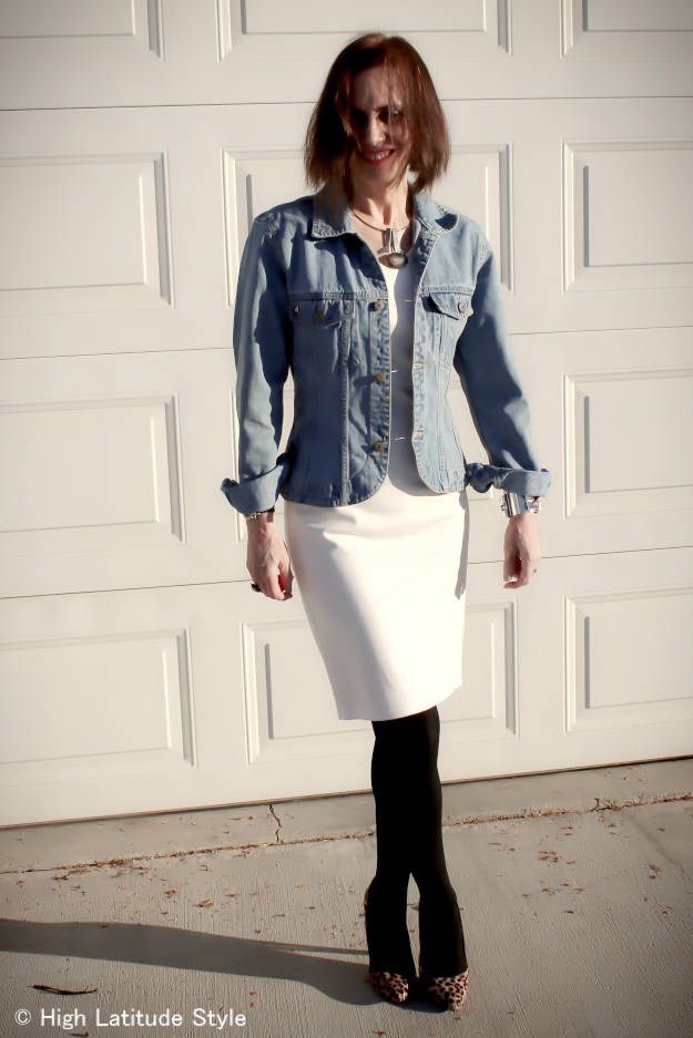 layered outfit to stay warm around vernal equinox
