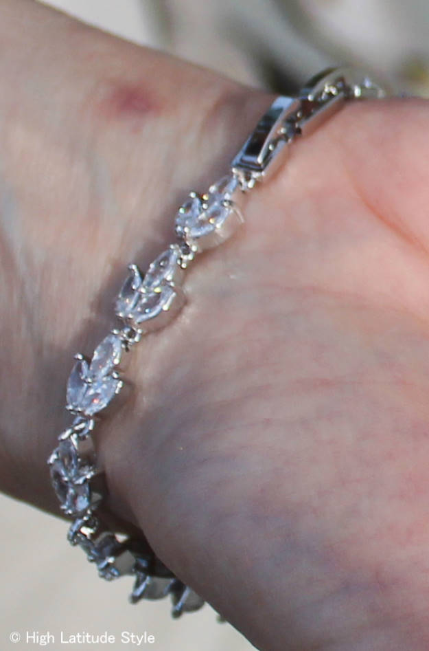 HSN Rita Hayworth bracelet double closures