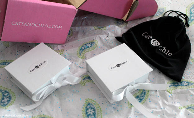 #Cate&Chloe content of Cate & Chloe VIP box comes in little gift boxes