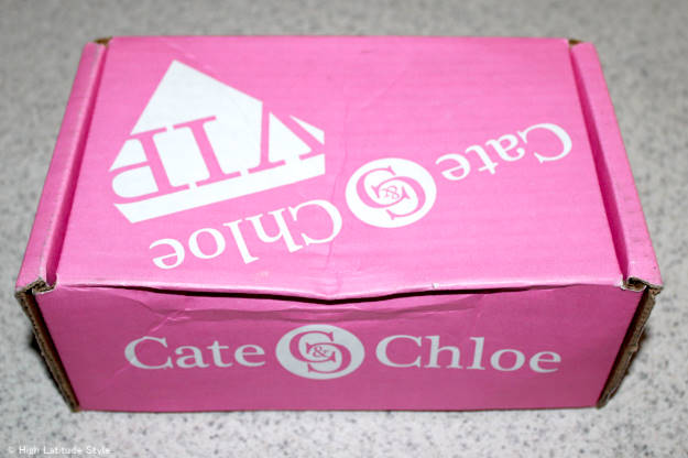 Photo of the Cate & Chloe VIP box upon arrival