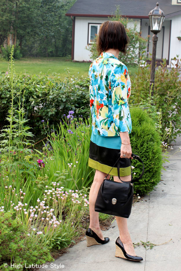 #over40fashion #over50fashion colorful daring outfit over 40 | High Latitude Style | http://www.highlatitudestyle.com