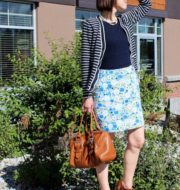 #fashionover40 #fashionover50 summer work outfit | Hifh Latitude Style | http://www.highlatitudestyle.com