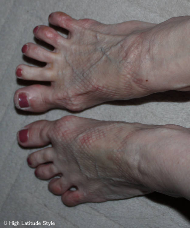 #fashionover40 #fashionover50 view of my feet after 3 hours of dancing in heels