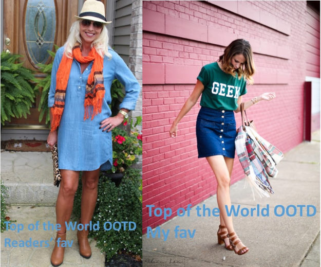 #fashion #linkup Top of the World Style fashion linkup party every Thursday - winners of the title Top of the World OOTD