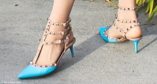 #fashionover50  Valentino stud reasons to love heels @ http://www.highlatitudestyle.com