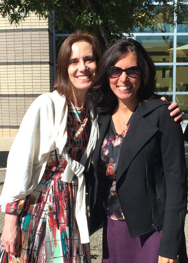 Co-host Ana and host Nicole