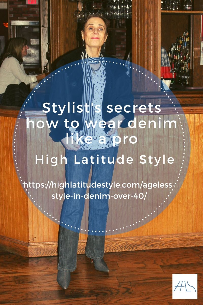 post banner on stylist's secrets to wear denim like a pro