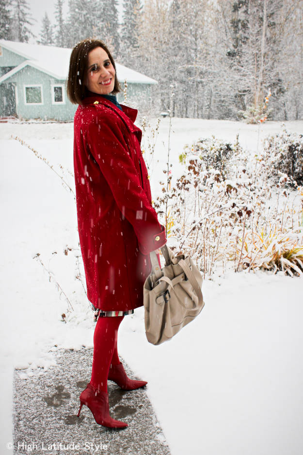 #fashionover40 #fashionover50 Best looks of October: example winter outerwear @ High Latitude Style @http://www.highlatitudestyle.com