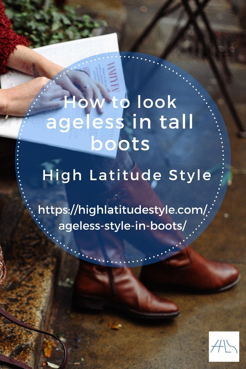 How to look ageless in tall boots