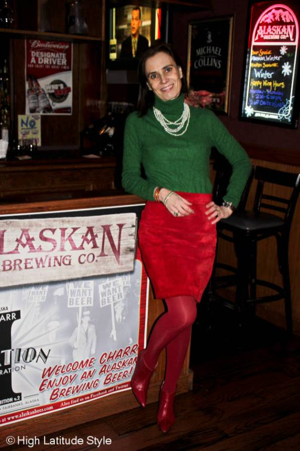 #fashionover40 What to wear for Christmas over 40 @High Latitude Style @http://www.highlatitudestyle.com