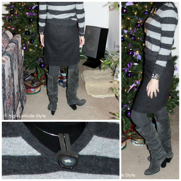 #bootsover40 details of slouchy boots
