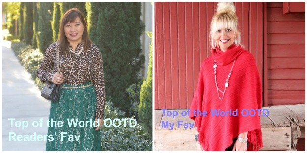 #fashionover40 Top of the World Style weekly fashion linkup