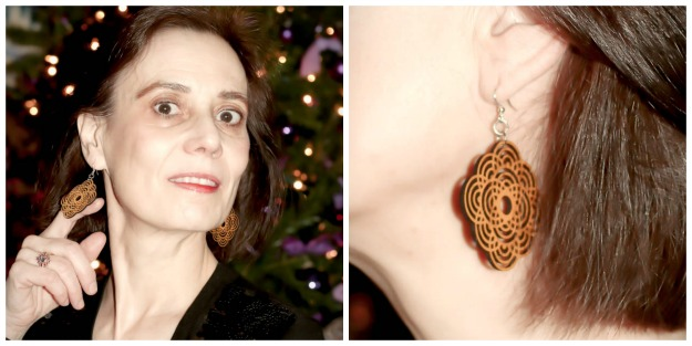 Green Tree Jewelry wooden earrings review