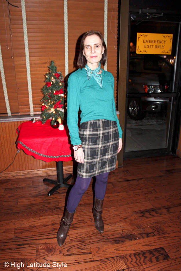 #Alaskalifestyle #fashionover40 mature Alaskan in a winter outfit