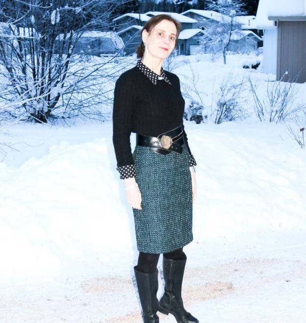 #fashionover40 winter work outfit @ http://www.highlatitudestyle.com