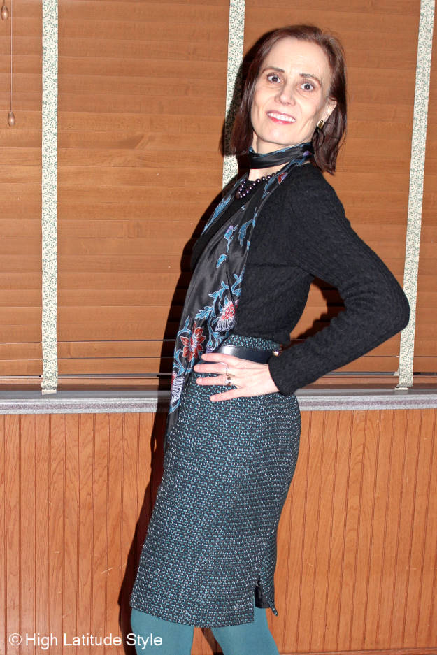 #maturefashion Best outfits of January: winter work look @ http://www.highlatitudestyle.com