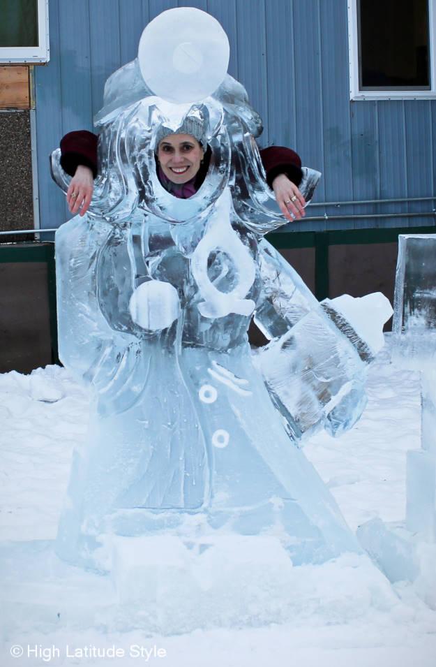 fashion ice sculpture