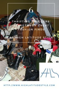 6 thrifting bloggers' secrets for great fashion finds
