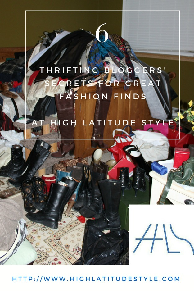 thrifting fashion over 40#thriftingblogger