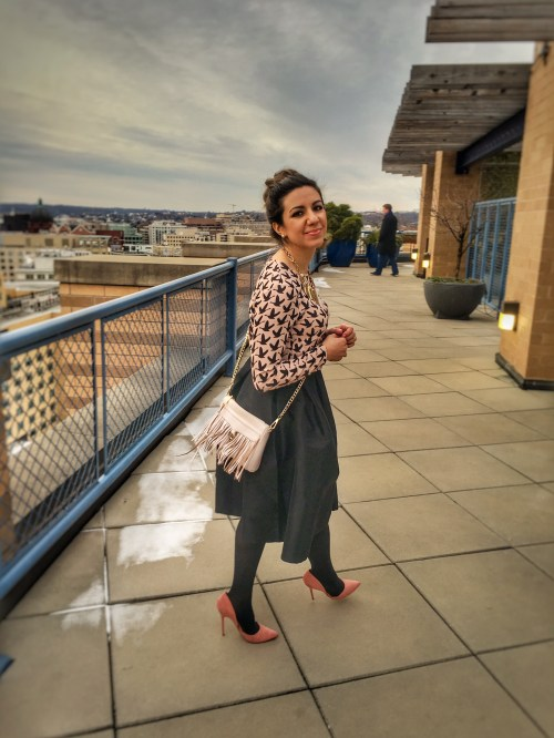 linkup co-host of the Top of the World Style fashion linkup