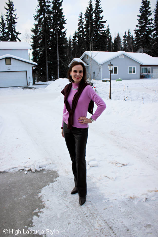 #over40fashion work outfit @ the Top of the World Style linkup party @ http://www.highlatitudestyle.com