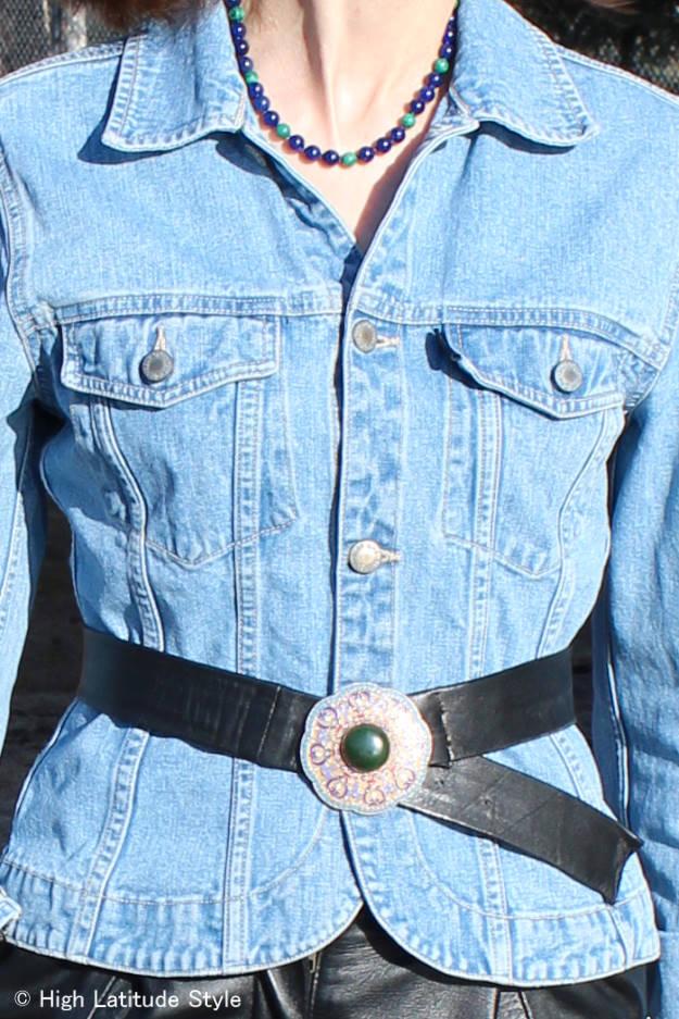 #styleover40 belt in #FocusAlaska
