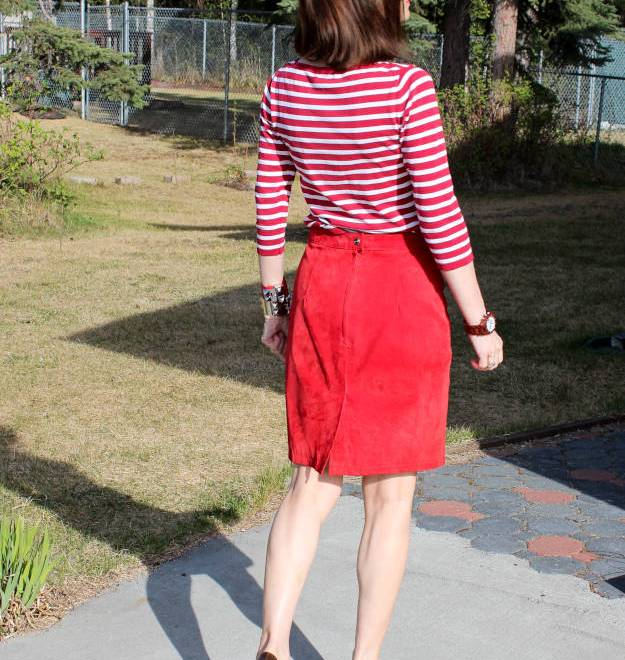 #fashionover40 gamine inspired OOTD at the Top of the World Style fashion linkup party at http://www.highlatitudestyle.com