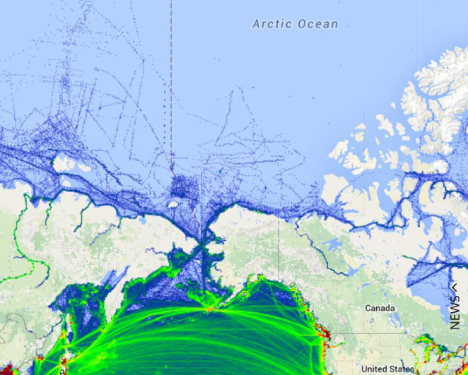 shipping in the Alaska Arctic