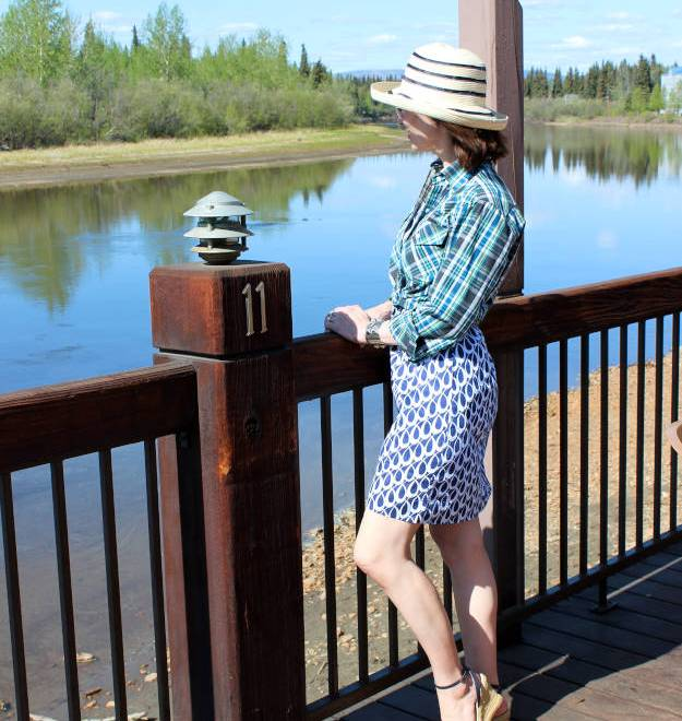 #fashionover40 sundress with shirt in How I wear my resort style @