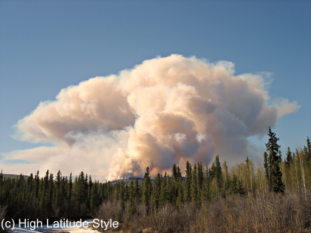 wildfires in Interior Alaska