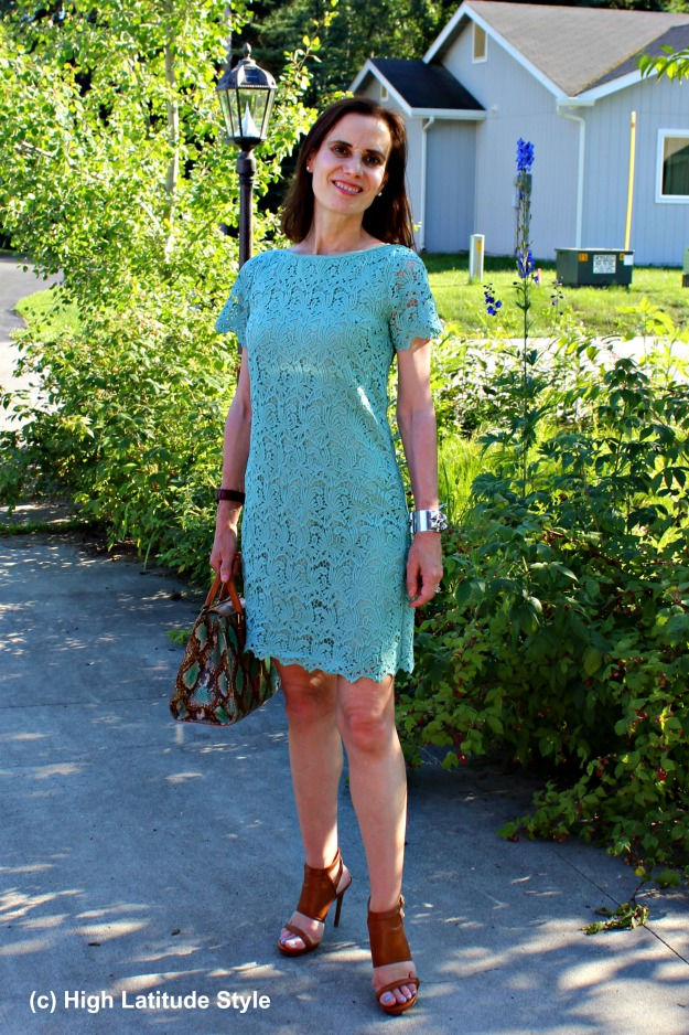 summer work outfit for mature women
