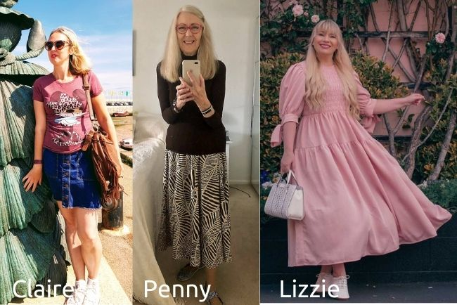 Top of the World Style awardees Claire Justine, Penny Kocher, and Lizzie