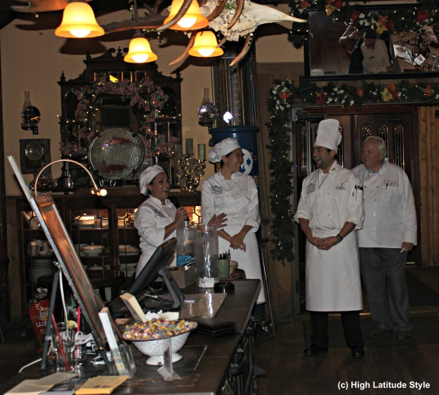 #travel Interior of the Pump House restaurant a historic place in Fairbanks, Alaska