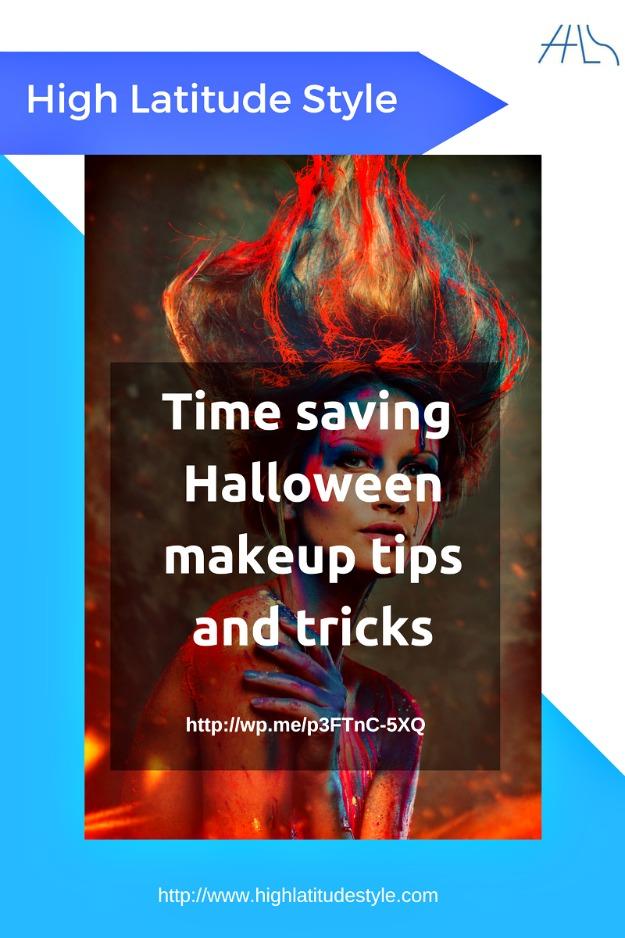 Halloween time saving makeup tips