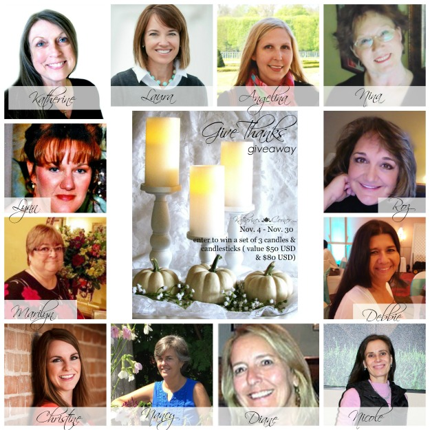 #giveaway hostesses of Give Thanks Giveaway