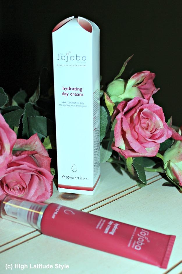 #beautyover50 Jojoba hydrating day cream and gift box