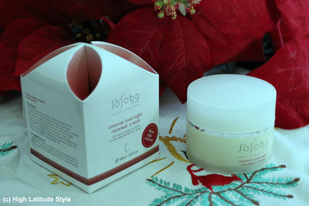 #beautyover40  Jojoba intense overnight renewal cream