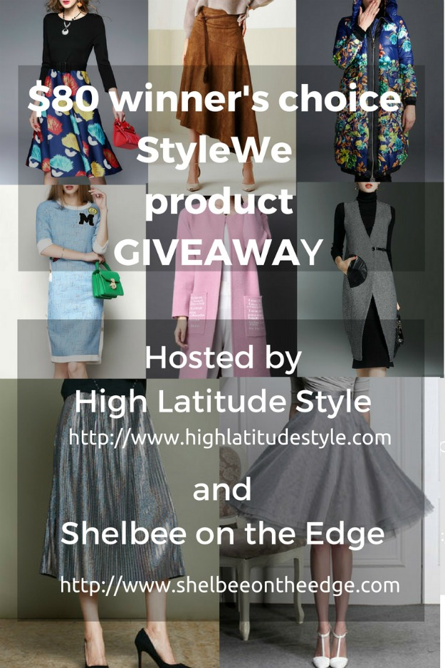 giveaway StyleWe $80 winner's choice of StyleWe product