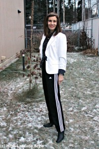You can look great in simple Adidas pants