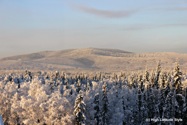 #FocusAlaska snow covered foothills of the White Mountains in Alaska