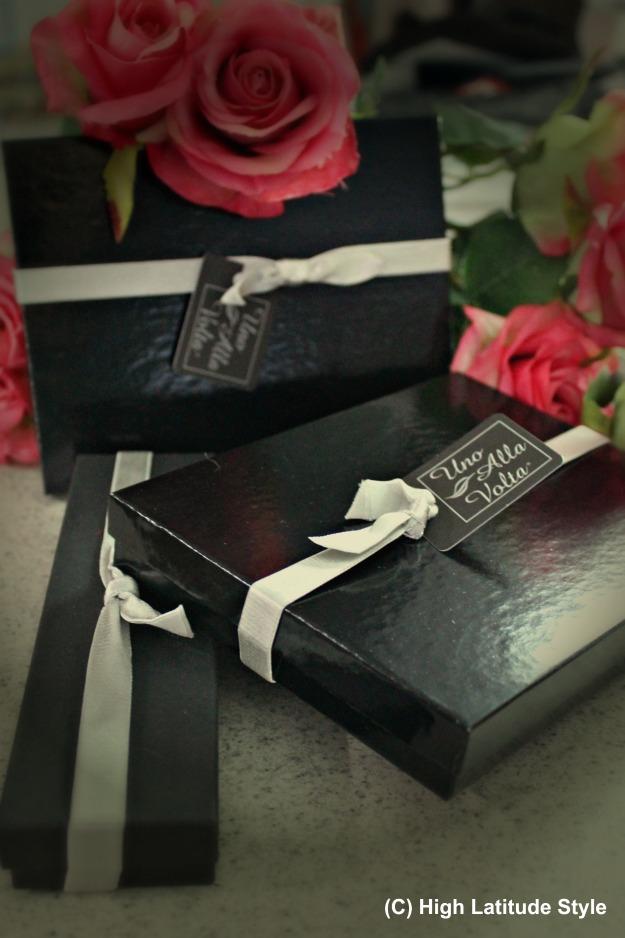 Uno Alla Volta gift boxes