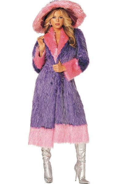 furry coat Halloween costume