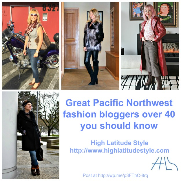 Pacific Northwest fashion over 40